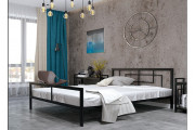 Ліжко Квадро 180 + вклад ДВП Метал-Дизайн