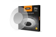 Світильник акриловий круглий накладний 24W 4100K Videx
