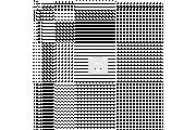 Мийка 490, врізна 490х180 Декор 0,8 см (з отвором під змішувач) Platinum