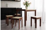 Комплект Елегант: стіл + табурети ЧДК